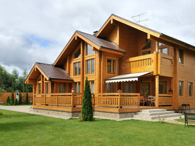 Строительство деревянных домов в Москве
