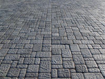 Укладка тротуарной плитки в Московском